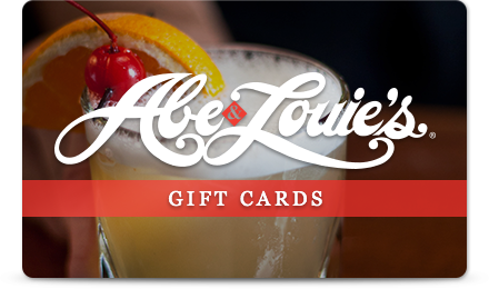 Click here to purchase and Abe & Louie's Gift Card