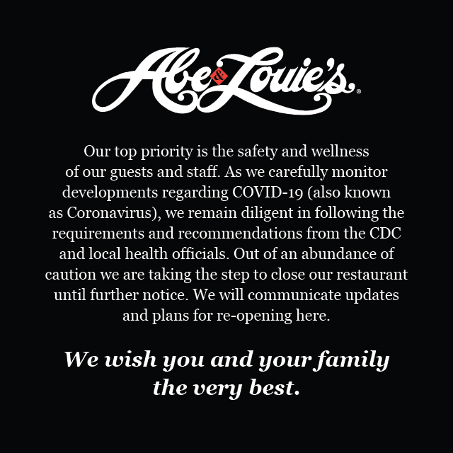 Abe and Louies Closure